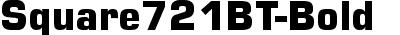 Square721BT-Bold