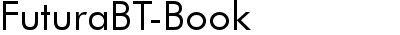 FuturaBT-Book