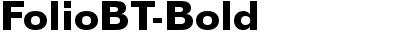 FolioBT-Bold