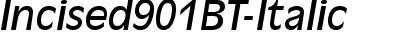 Incised901BT-Italic