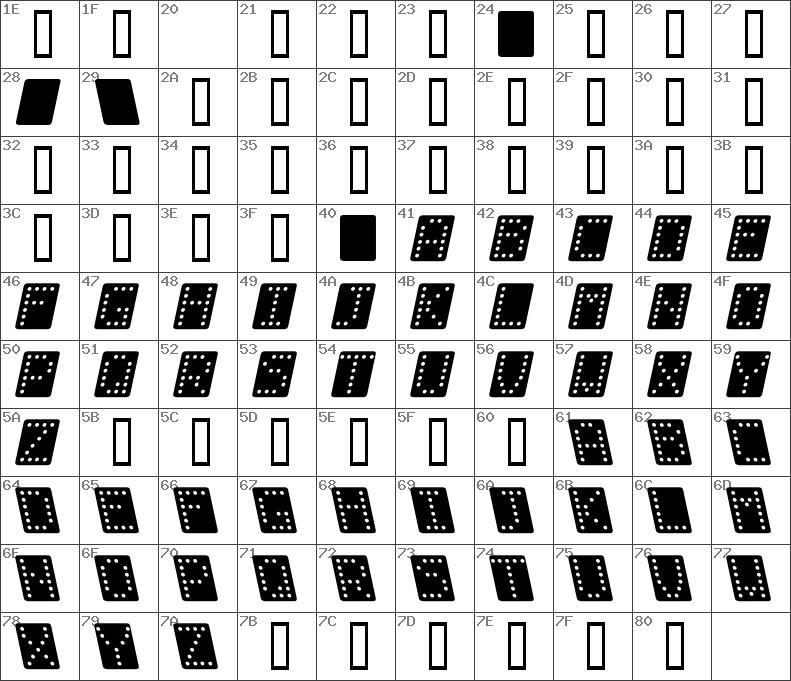 Dominobredkursiv