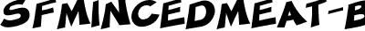SFMincedMeat-Bold