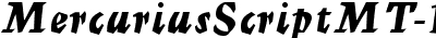 MercuriusScriptMT-Bold