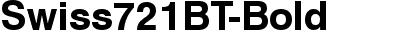 Swiss721BT-Bold
