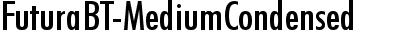 FuturaBT-MediumCondensed
