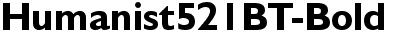 Humanist521BT-Bold