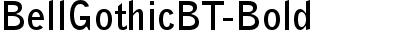 BellGothicBT-Bold