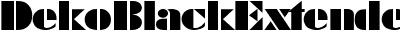 DekoBlackExtended-Serial-...