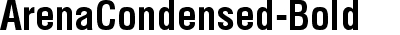 ArenaCondensed-Bold