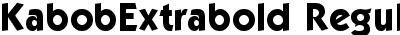 KabobExtrabold Regular