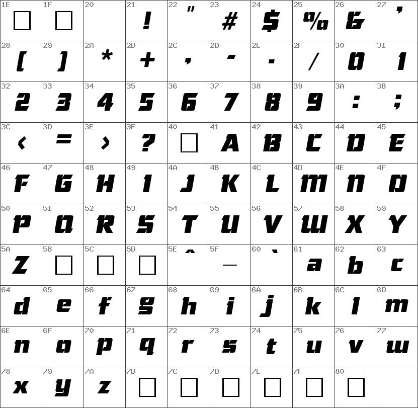Cornered-Italic