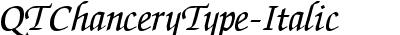 QTChanceryType Italic