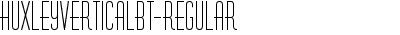 HuxleyVerticalBT-Regular