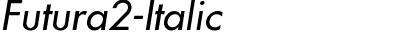Futura2-Italic