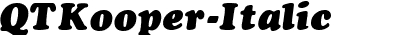 QTKooper Italic