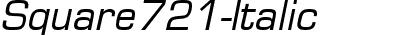 Square721-Italic