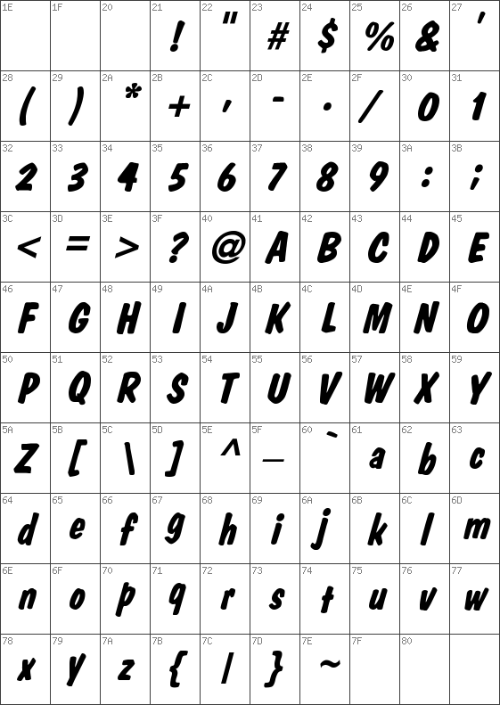 DomCasual-Bold-Italic