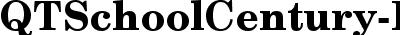 QTSchoolCentury Bold