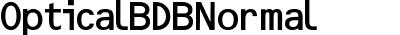 OpticalBDB Normal