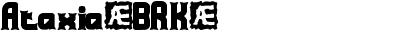 Ataxia(BRK)