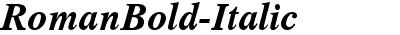 RomanBold-Italic