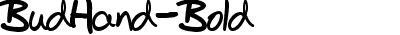 BudHand-Bold