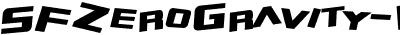 SFZeroGravity-Italic