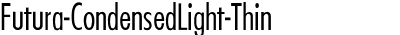 Futura-CondensedLight-Thi...