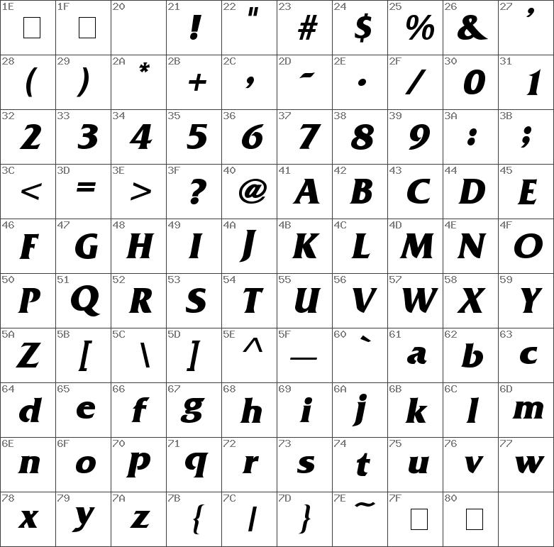 FranzquoBold-Italic
