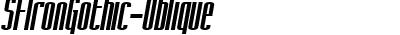 SFIronGothic-Oblique