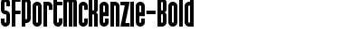 SFPortMcKenzie-Bold