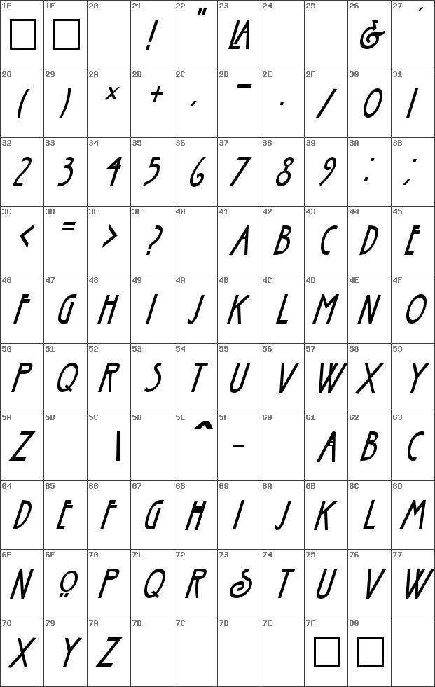 Nouveau Italic