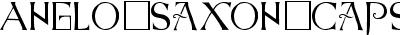 Anglo-Saxon-Caps