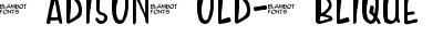 MadisonBold-Oblique