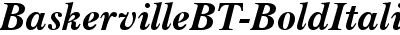 BaskervilleBT-BoldItalic