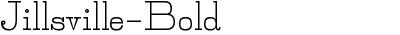 Jillsville-Bold