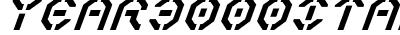 Year 3000 Italic