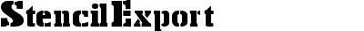 StencilExport