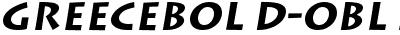 GreeceBold-Oblique