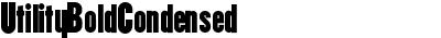 UtilityBoldCondensed