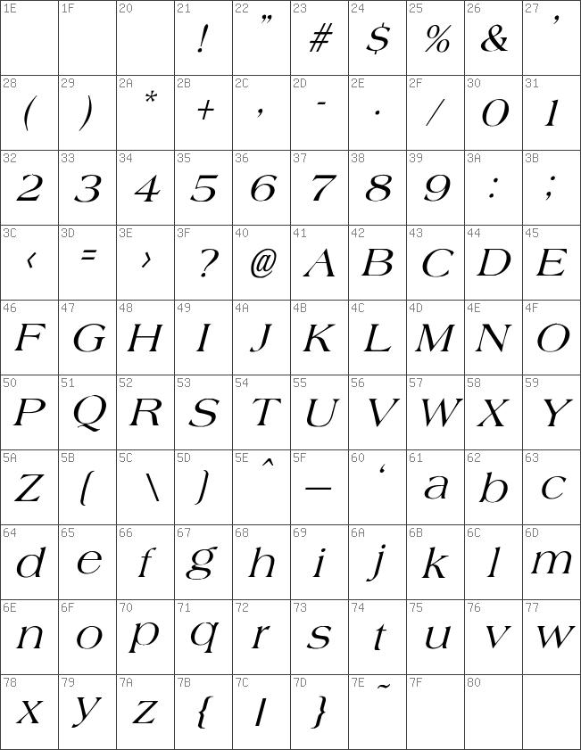 Agate-Italic
