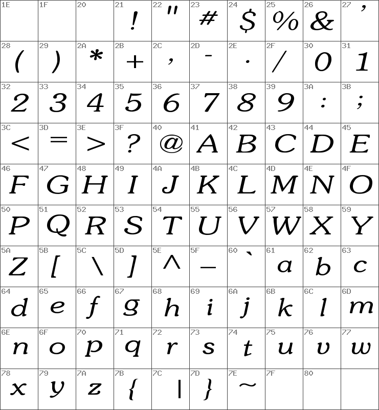 Souvenir-Light-Italic Wd