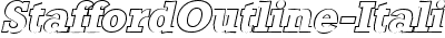 StaffordOutline-Italic