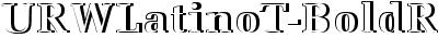 URWLatinoT-BoldRe1