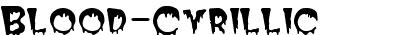 Blood-Cyrillic