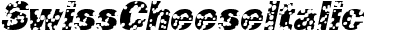 SwissCheese Italic
