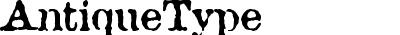 AntiqueType