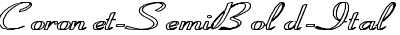 Coronet-SemiBold-ItalicHE