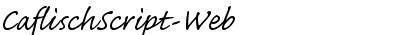 CaflischScript-Web