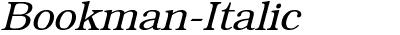 Bookman-Italic